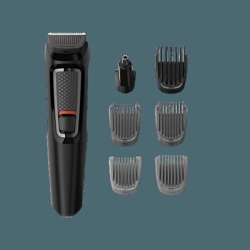 Philips Multigroom MG3720 szakállvágó mellékelt tartozékok