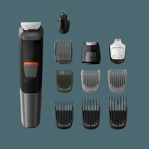 Philips Multigroom MG5730 szakállvágó mellékelt tartozékok